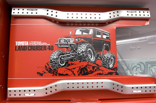 Tamiya CR-01 Toyota Land Cruiser chassis in box