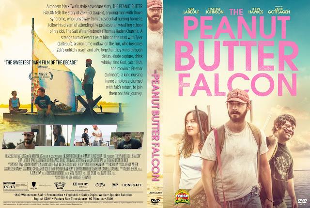 The Peanut Butter Falcon DVD Cover