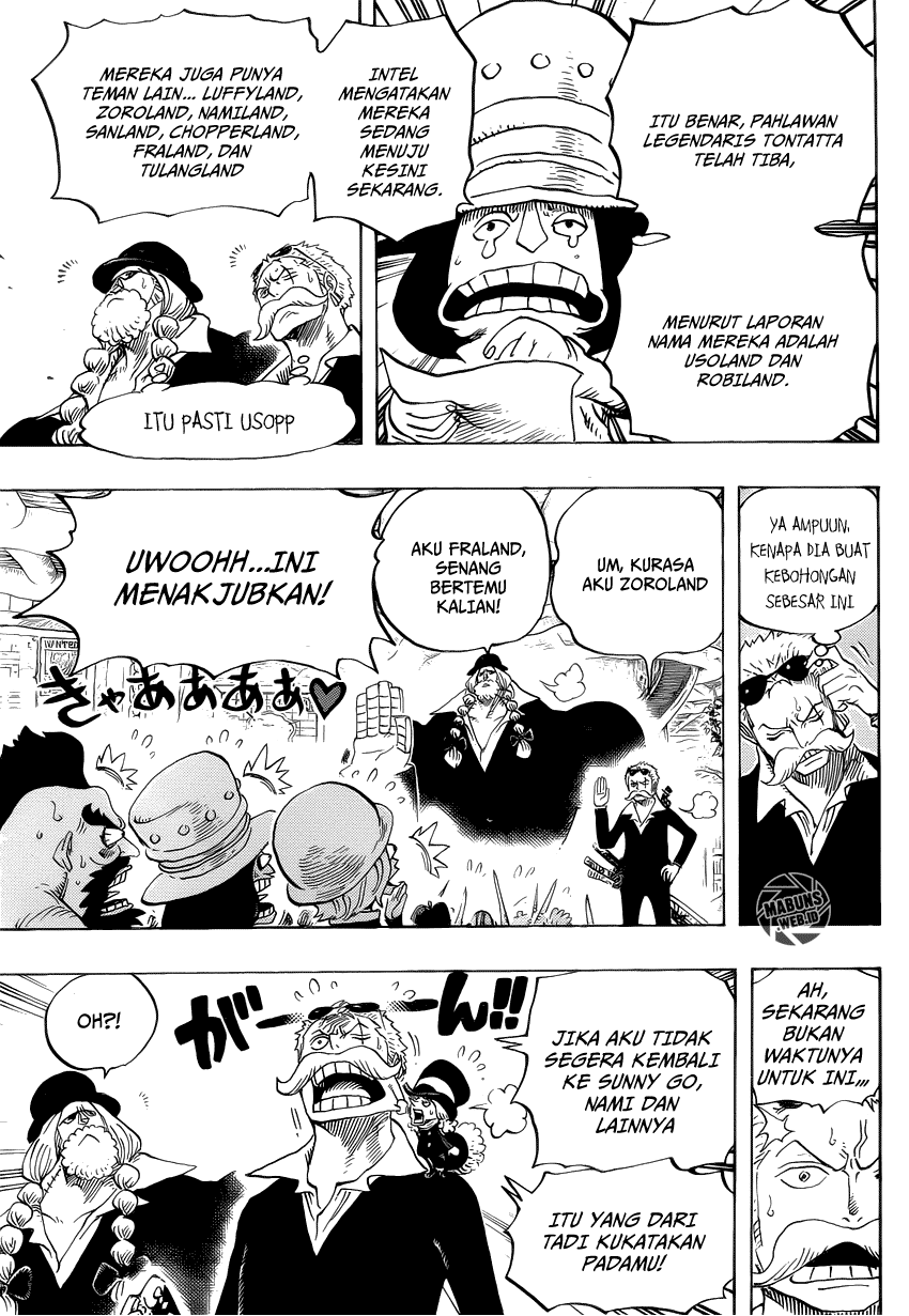 komik one piece 718