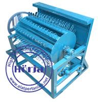 pedal threser manual - perontok padi sistem kayuh