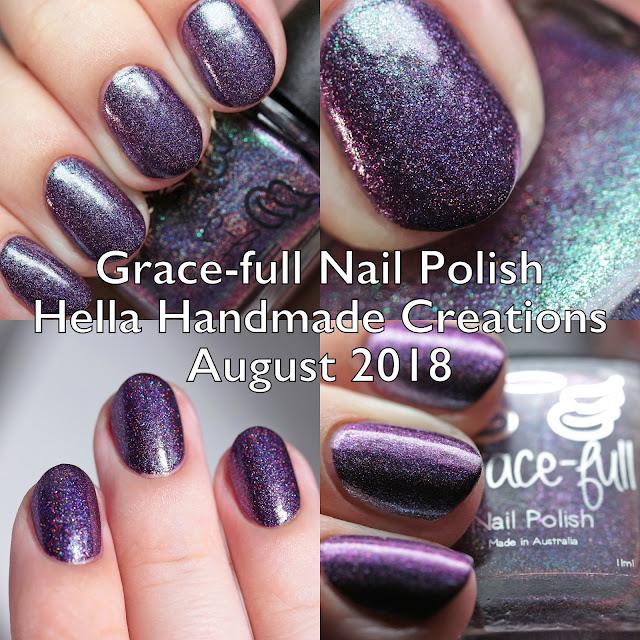 Grace-full Nail Polish Hella Handmade Creations August 2018
