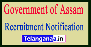 Government of Assam Recruitment Notification 2017