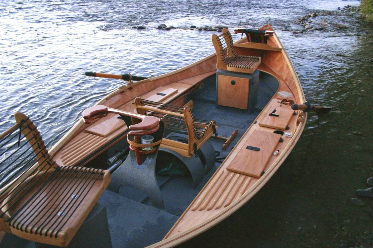 """Fly Fishing Traditions: Building a Custom Made """"Kingfisher"""" Drift Boat"""