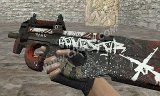 Skin P90 - Gangstar - HD CS 1.6
