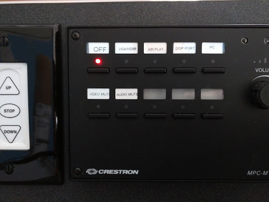 Project to Standardize Crestron Control Units Enabling Backlight etc