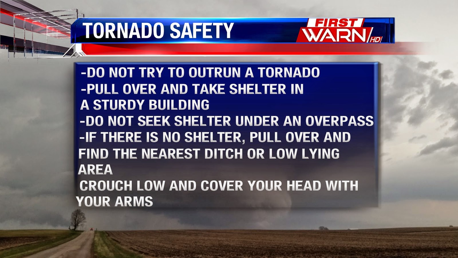 First Warn Weather Team: Tornado Safety