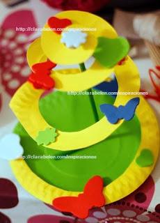 http://clarabelen.com/inspiraciones/3354/manualidades-arbol-de-navidad-para-ninos-hecho-con-platos-de-papel-y-un-pajita-o-canutillo/