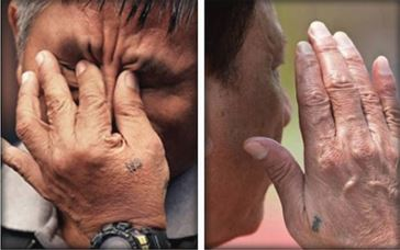 President Duterte and Edgar Have Identical Tattoos! Does This Mean Past Brotherhood?