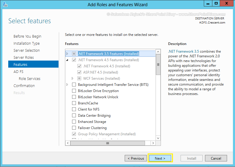 adfs sharepoint 2013 step by step