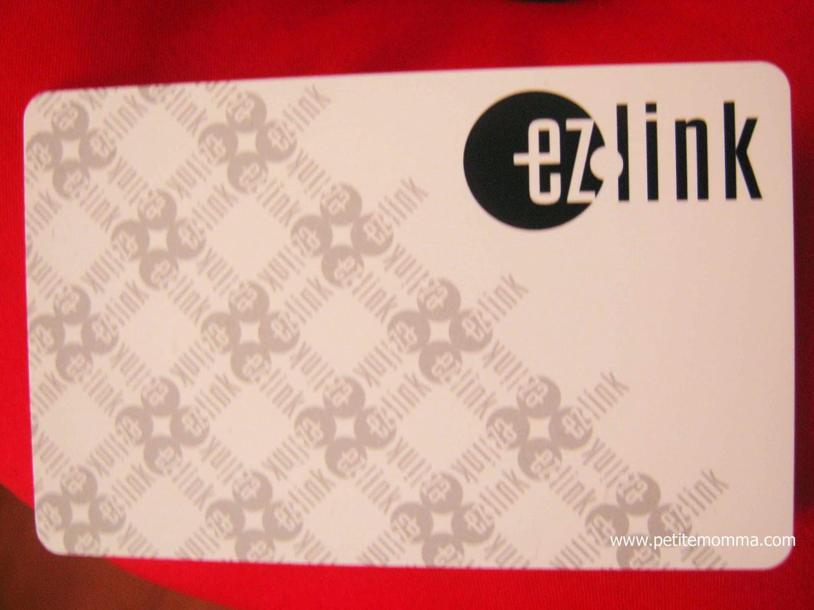 Singapore MRT card