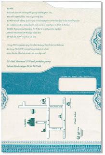 Cara Cetak Blanko Undangan Mazaya MZ 016 dengan Printer