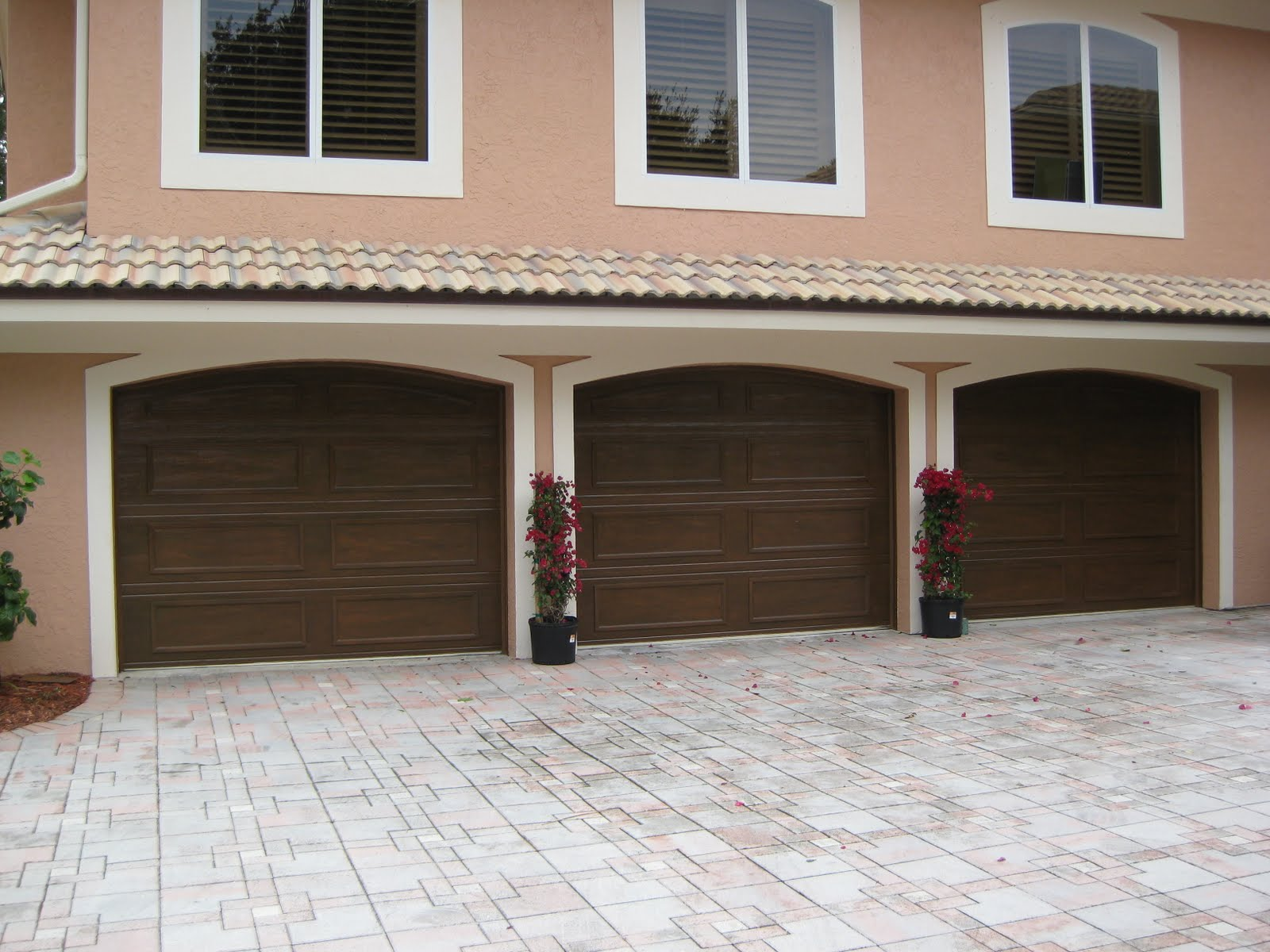 Array Of Color Inc Faux Wood Garage Doors