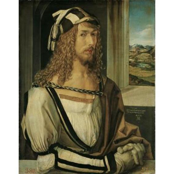 Durero Autorretrato Museo del Prado