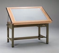 Mayline Ranger Lighted Drafting Table