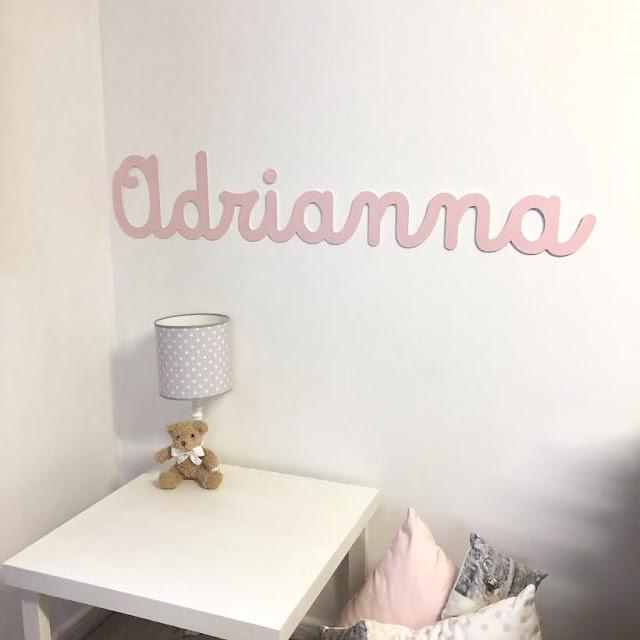 Nombres de niño y niña ,  para decorar el cuarto infantil