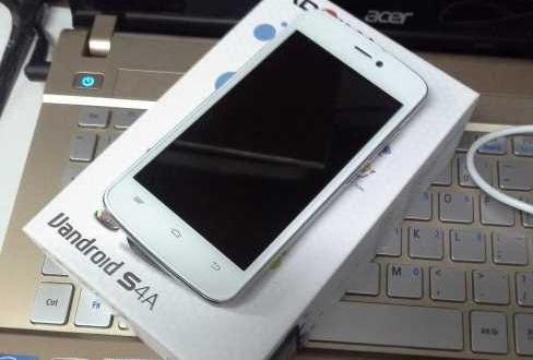 Flashing Lengkap Vandroid S4 + Firmware