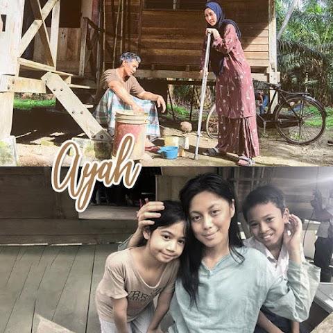 Telemovie AYAH - Lakonan Fahrin Ahmad, Rita Rudaini & Azar Azmi Di TV3