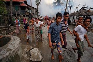 Muslim Rohingya Tentara Myanmar Membunuh Kami tanpa Ampun - Commando