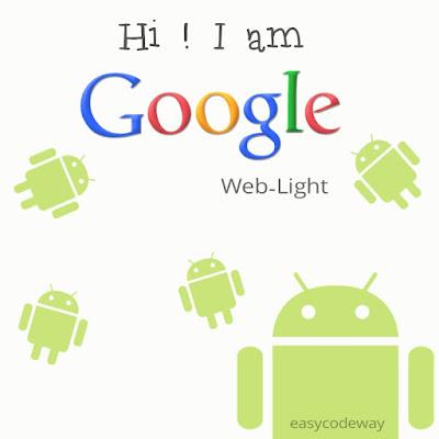 Google Web Light