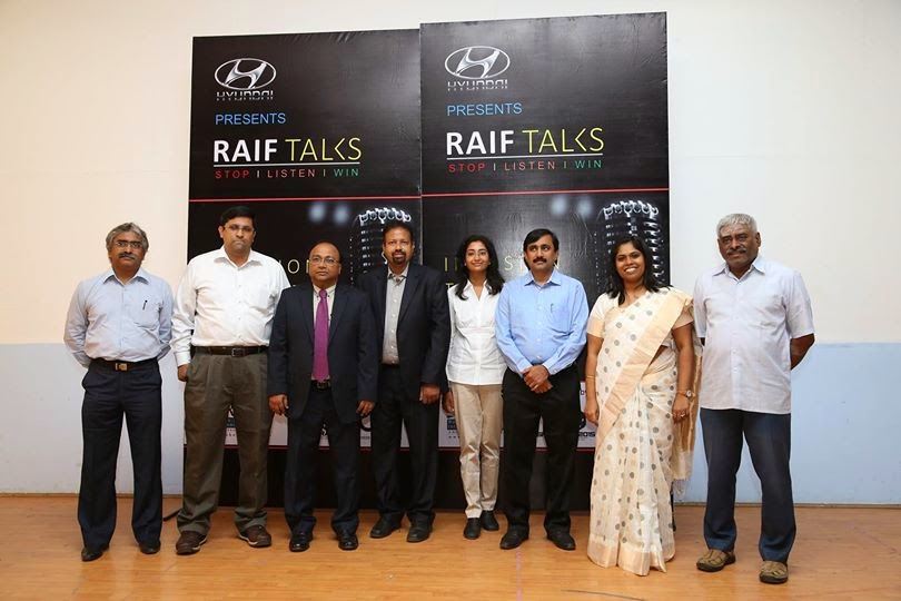 Speakers at RAIF TALKS at IIT Madras on 5th July 2014 with Founders