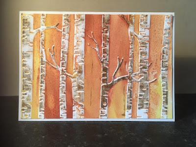 Woodland Embossing Folder, Stampin' Up!