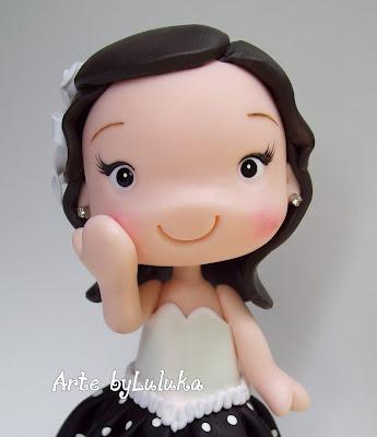 foto de criança personalizada em biscuit estilo fofinho