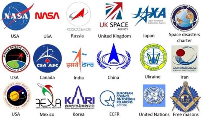Existem muitas agências espaciais espalhadas pelo mundo