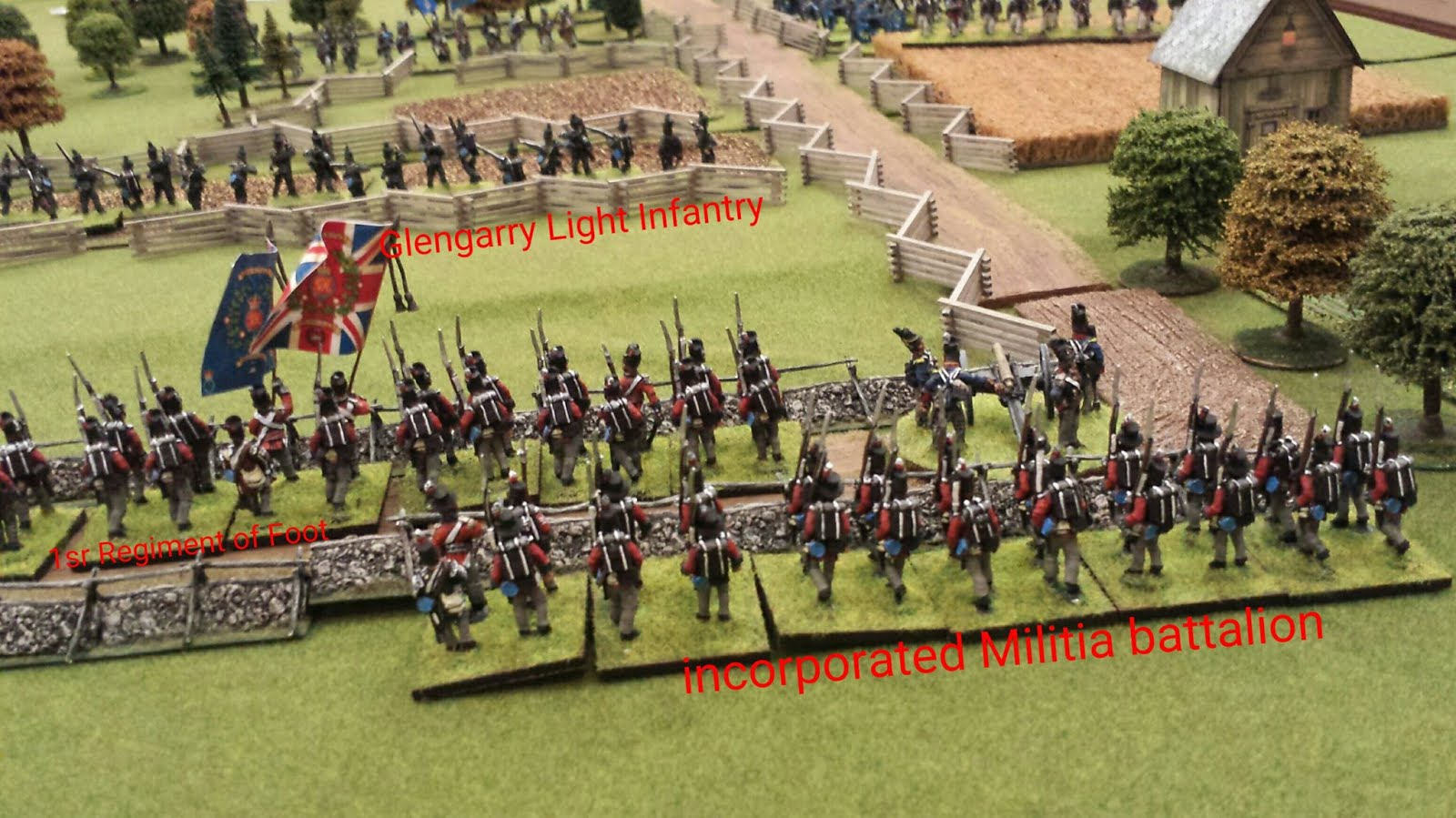 My Brave Fusiliers!: Fife and Drum Miniature Rules for
