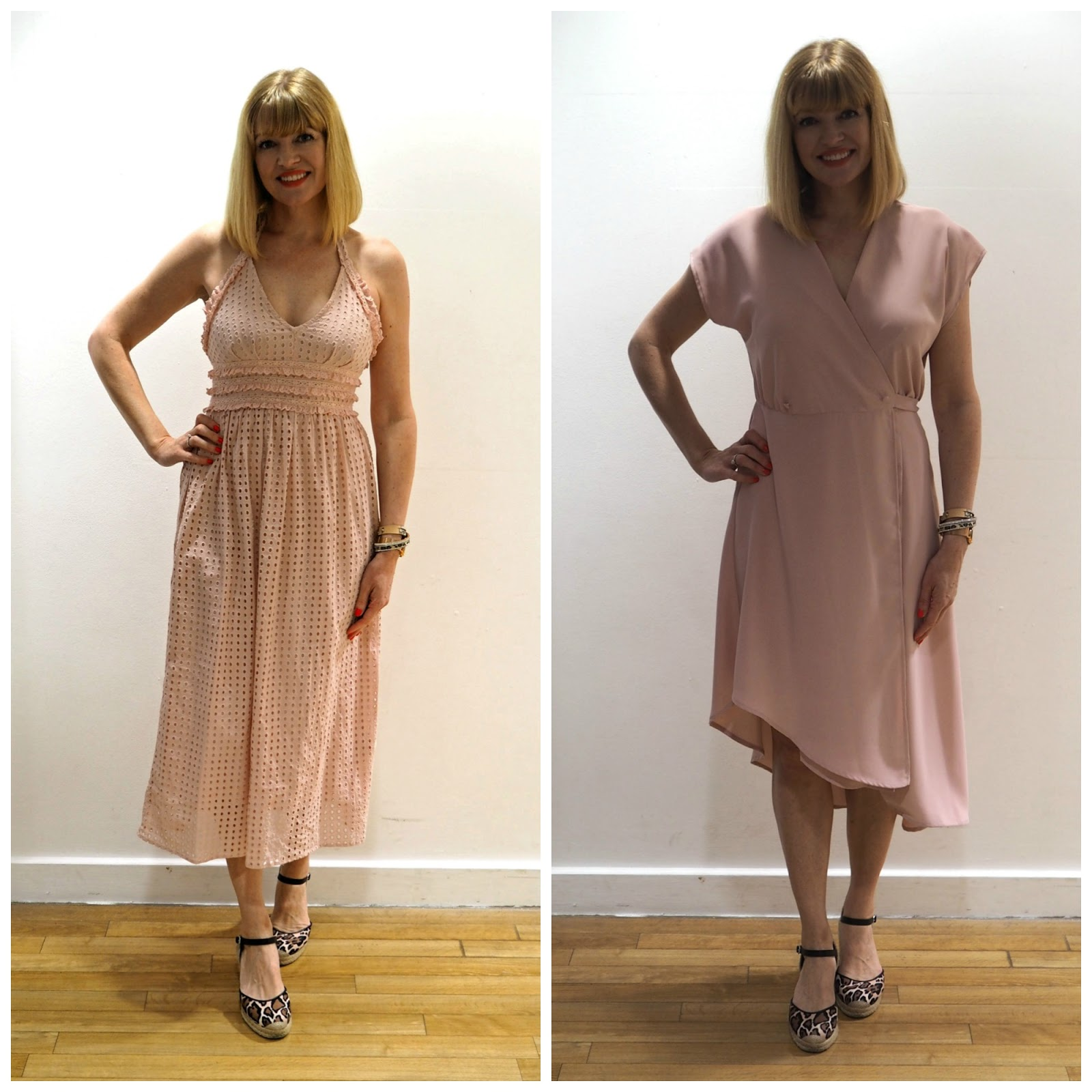 What to wear for York Races, Topshop pink dresses, over 40