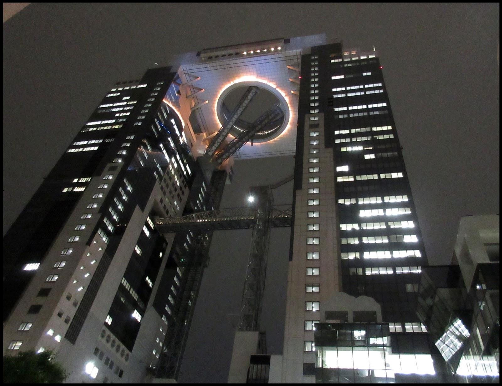 .. 夢飛翔: 梅田藍天大廈 空中庭園展望臺