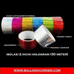 Isolasi 2 Inchi HOLOGRAM