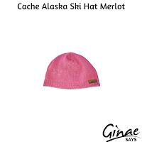 Cache Alaska Ski Hat Merlot