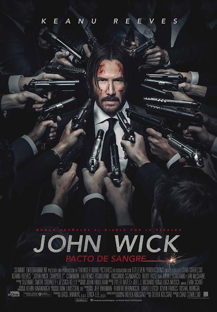 "Cartel final de ""JOHN WICK. PACTO DE SANGRE""."
