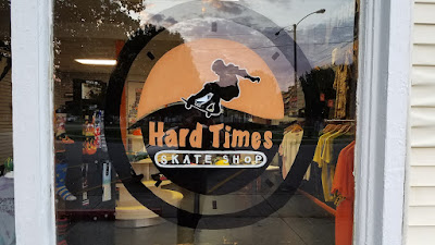 Hard Times Skate Shop - Shop window logo