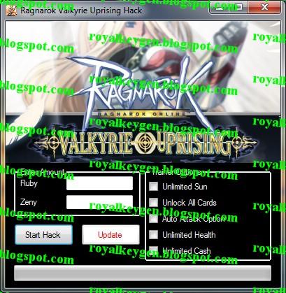 Hack ragnarok online valkyrie uprising database