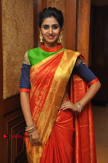 South Indian Celebrities Pos at Love For Handloom Collection Fashion Show  0104.jpg