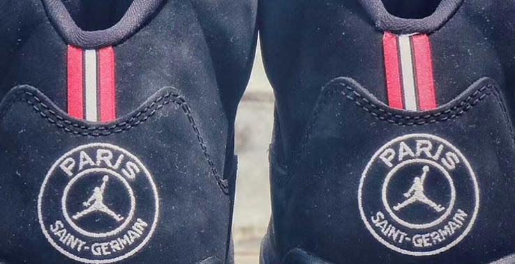 27d87a51360 Nike owned Jordan Brand will be releasing a special sneaker for French club Paris  Saint-Germain. The new Nike Air Jordan 5 sneaker is part of Nike's ...