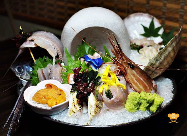 Sashimi Moriawase - Chef Selection Ishin Japanese Restaurant Old Klang Road