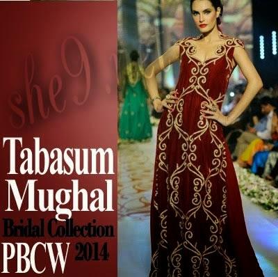 She9 A Complete Fashion Blog Tabassum Mughal Bridal Fashion Show