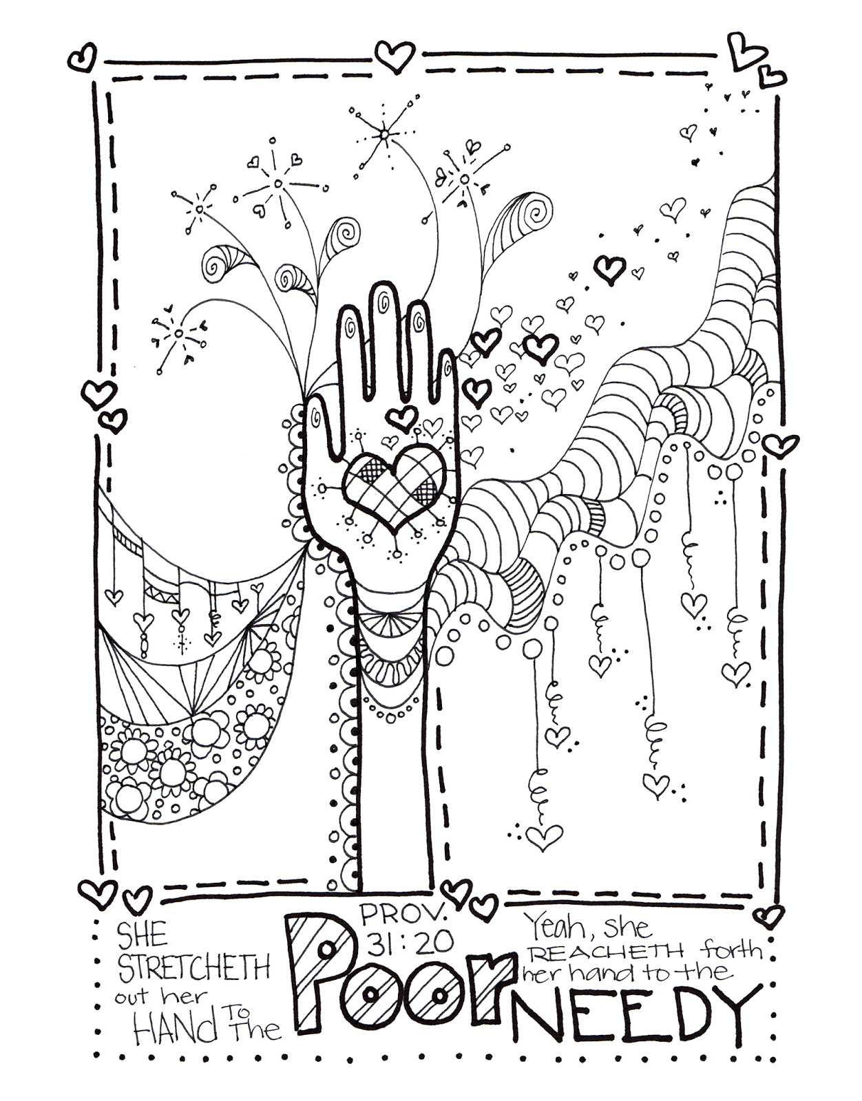 Alten Ink The Proverbs 31 Coloring Book