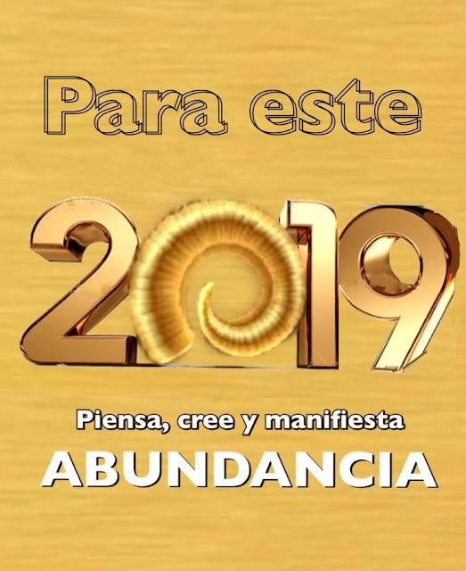 Feliz 2019 nuestros mejores intenciones