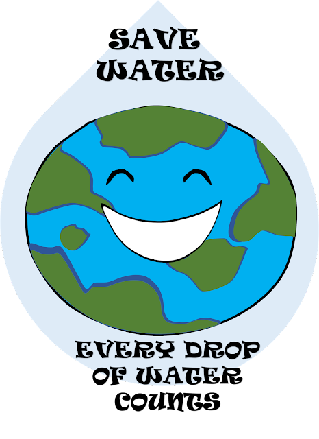Save Water Poster, Poster for Water Conservation