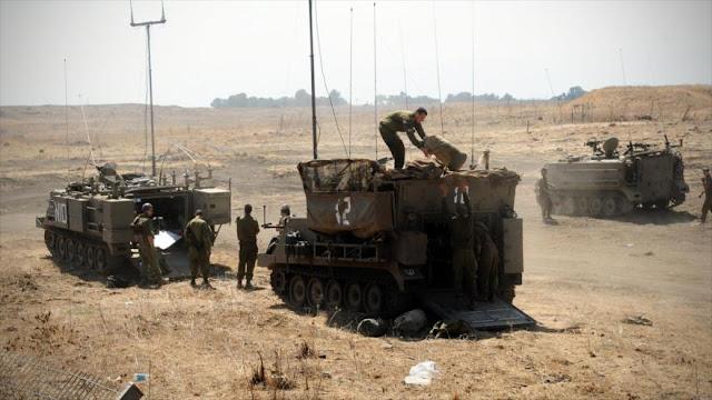 Israel sigue atacando al Golán sirio por tercer día consecutivo