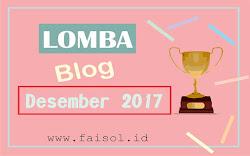 (UPDATE) Daftar Lomba Blog Desember 2017