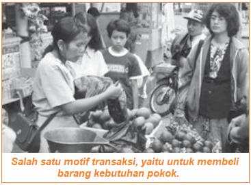 Motif Transaksi salah satu Motif Seseorang Membutuhkan Uang