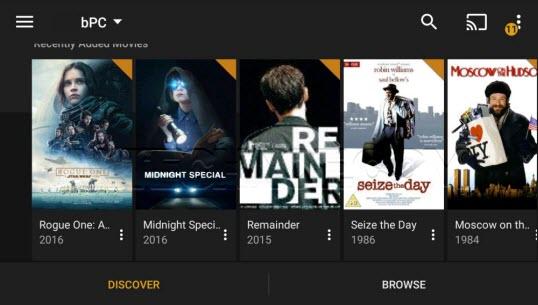 شرح وإعداد برنامج Plex - لمشاهدة الأفلام والعروض لاسلكيا على مجموعة