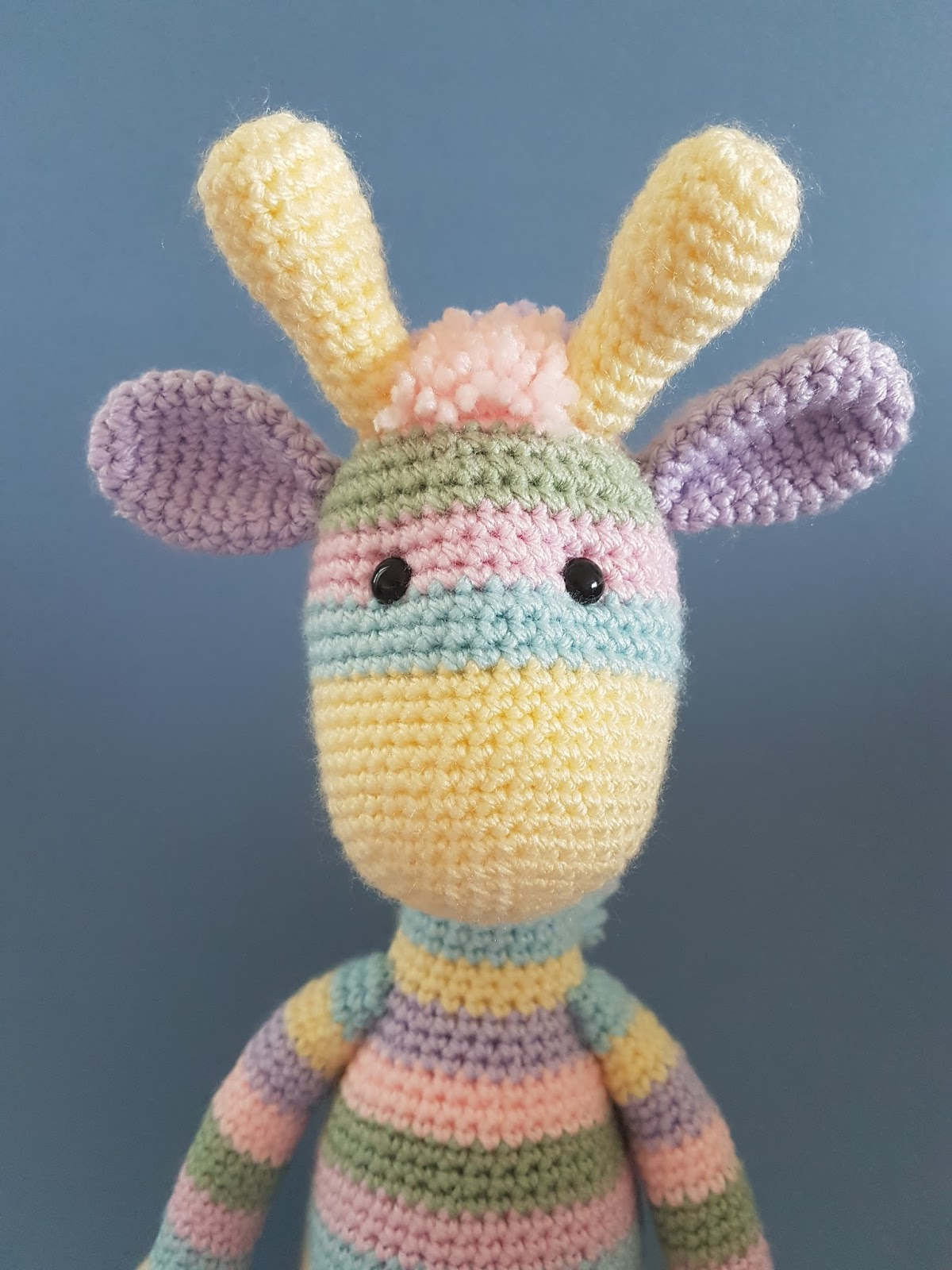 Ravelry: Baby Giraffe Amigurumi pattern by Courtney Deley | 1600x1200