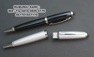 Flashdisk Unik Bentuk Pena, Pulpen Usb Stylus,  FDPEN15, Elegan Merchandise Promotion, USB Flashdisk Pen Stylus murah