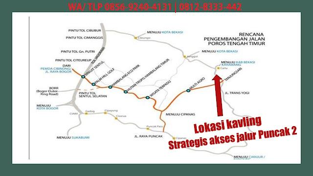 Lokasi Kavling buah Lantaburro di Cariu dan Kavling buah Lantaburro Tanjungsari