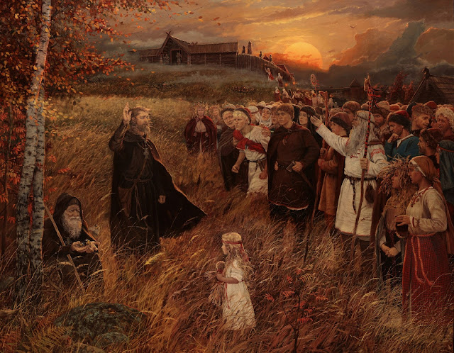 """ The Preaching"" de Vladimir Kireev"